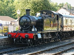 GWR 5526 at Buckfastleigh (rashbre) Tags: sdr gwr buckfastleigh 5526 4575class