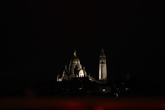 Sacré Coeur at night