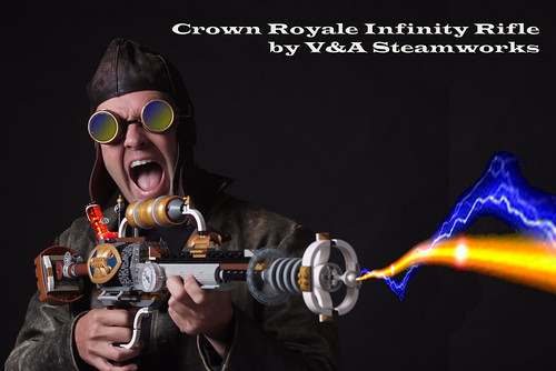 Crown Royale Infinity Rifle by V&A Steamworks