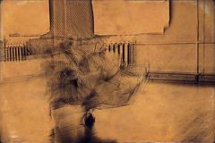 (Andrey Zeigarnik) Tags: longexposure motion blur dancing motionblur flamenco monocrome