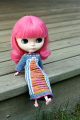 Folk Princess Dress for Blythe