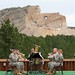 July 27, 312th Army band performs at Crazy Horse Memorial