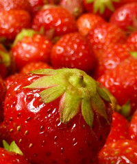 My favorite fruits! (Channed) Tags: strawberry aardbei aardbeien strawberries jam marmalade red chantalnederstigt flickrchallengegroup flickrchallengewinner channedimages