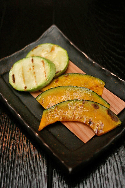 Zucchini and pumpkin