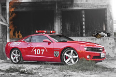 Kuwait Fire Service Directorate (Talal Al-Mtn) Tags: red cars fire hp camaro fireman service firemen kuwait kills  reddevil v8 v6 q8 kwt firekills directorate kuw  newcamaro lm10 inkuwait firestaition redcamaro camaro2010 talalalmtn  camaross2010 talalalmtnphotography photographybytalalalmtn   camaro2010inkuwait  kuwaitfire 2010 camaroinkuwait kuwaitfireservicedirectorate    camoro2010