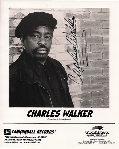 Charles Walker (Autographed 8X10 Promo Photo)