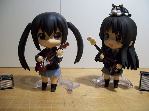 Azusa Nakano & Mio Akiyama Nendoroid