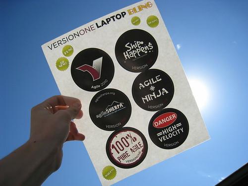 Version One laptop bling