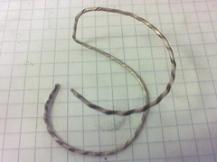 Bent Strip-Twisted Wire 2