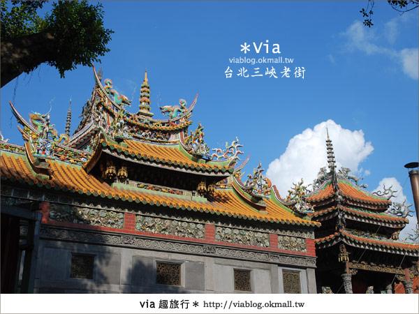 【台北景點】走入台北古味老鎮~三峽老街之旅33