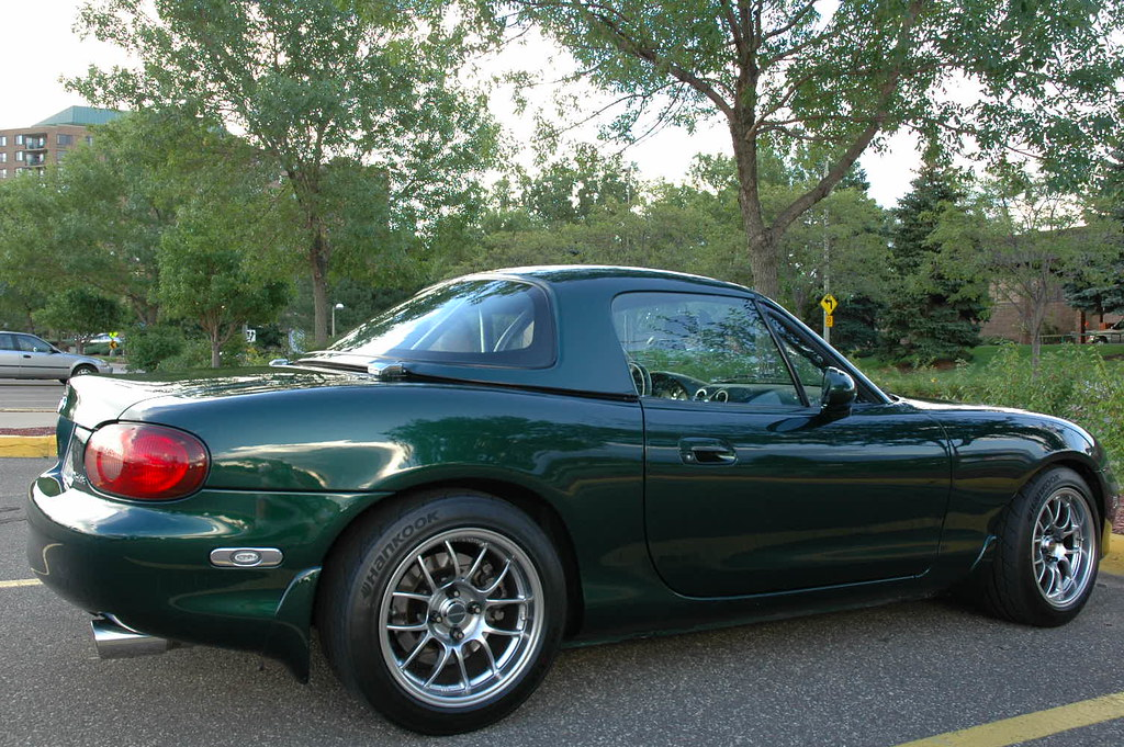 Any pictures of Nickel 6ul's on Green NB's? - Miata Turbo Forum