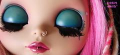 She dreams of butterflies (♥PAM♥dolls♥) Tags: doll blythe custom customblythe akhlys pamdolls
