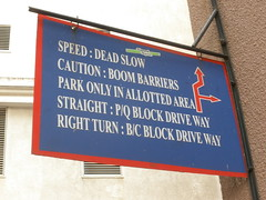 Diamond District Sign