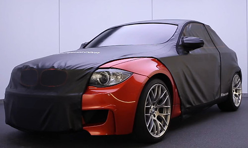 BMW 1 Series M Coupé front