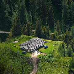 Solitary Bavarian farmhouse in the Berchtesgaden Alps (Bn) Tags: lake farmhouse germany bavaria berchtesgaden jeep kings fjord hikers paragliding thealps paragliders verticalpanorama rayoflight nationalparkberchtesgaden jennerbahn berchtesgadennationalpark jennermountain cloudsinthemountains germanbavarianalps southofgermany schnauamknigssee mountjenner berchtesgadenalps rocksontheroof formedbyglaciers nearborderwithaustria jennermountaintop1870m picturesquesetting sheerrockwalls steeplyrisingflanksofmountainsupto2700m hikingtrailsupthesurroundingmountains royalmountainexperience thebreathtakingalpinemountainsoftheknigssee 1874mhigh mountjennercablecar typicalbavarianfarmhouse herdsmenbecamepensionowners bavarianmountainhouses