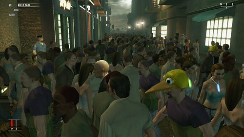 Hitman - crowd scene