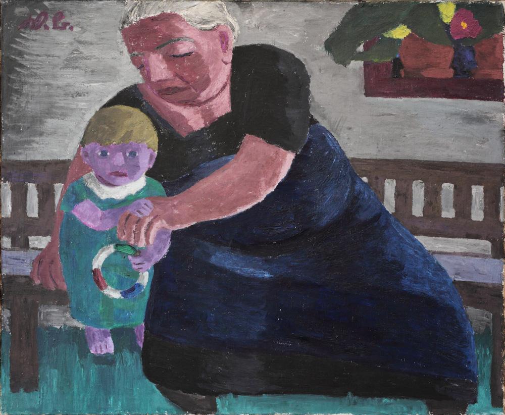 Werner Berg, Die Groβmutter [Grandmother], 1932