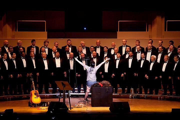 Portland gėjai yra Chorus