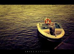 Ganas de Escaparse. (Ariel Mancini - Fotografia) Tags: life sea water boat mar agua quiet blanca vida bahia hdr lancha bahía tranquilidad arielmancini