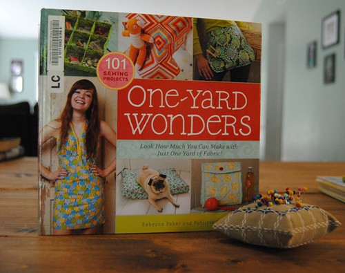 craft book of the month :: one yard wonders