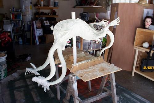 Dragon mache