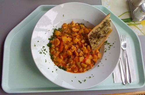 Kartoffel-Zucchini-Gulasch