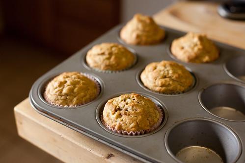 Multigrain banana muffins