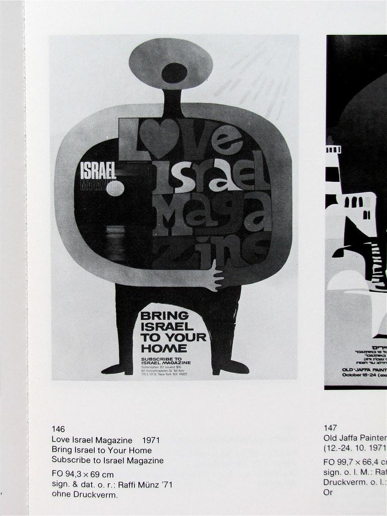 Plakate Aus Israel, 1985