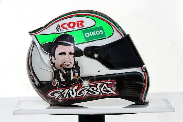 Tonio Liuzzi's new lid