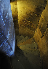 Going Down (asims22) Tags: travel vacation italy stone architecture stairs florence nikon belltower digitalslr goingdown giottosbelltower