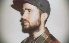 Simon (Charles Sheldon) Tags: boy man up hat shirt beard check close wide handsome beards cap 200 flannel fujifilm instax adaptor
