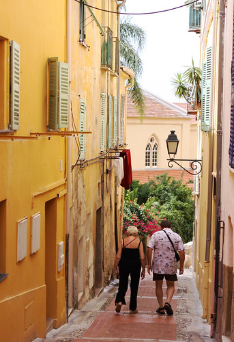 Old Town in Menton -3