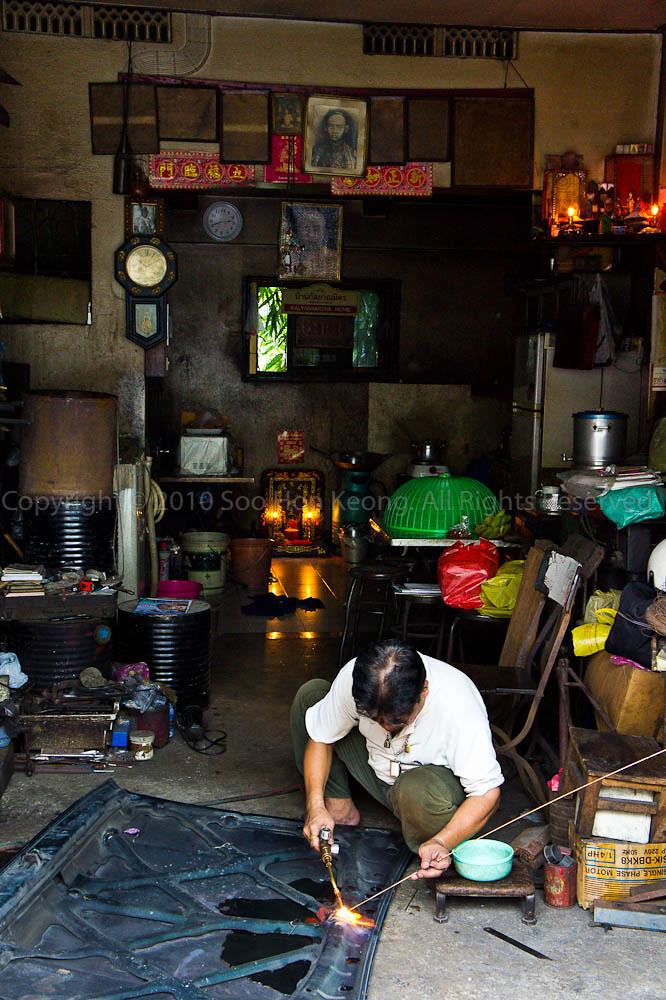 Welding @ Near Chinatown, Bangkok, Thailand