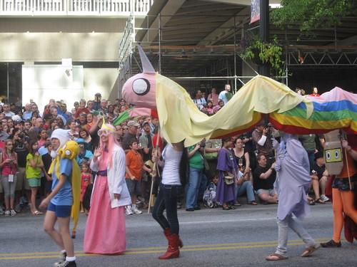 Adventure Time at Dragon*Con