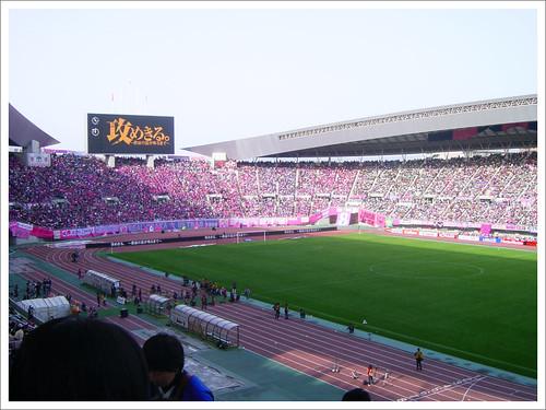 長居スタジアムを埋めた大観衆@セレッソ大阪 VS ガンバ大阪_201003