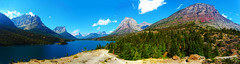Glacier National Park Panorama PLEASE VIEW IT LARGE OR ORIGINAL SIZE (JimBoots) Tags: glaciernationalpark 2007
