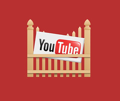 youtube icon red background