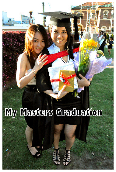 My Masters Graduation 2010: With Veron