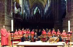 Mozart K192 with King's School Choir and strings for their 50th Anniversary (cathedralchoir) Tags: choir cathedral chester strings kingsschool w777