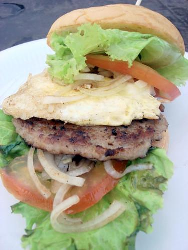 Pork burger SS2 wai sik kai 1