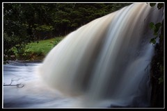Waterfall Torrent at Talybont (Martyn.Smith. Back from Euro tour :)) Tags: water wales creek canon river landscape eos photo waterfall flooding flickr wasserfall flood cymru breconbeacons waterfalls cascade cachoeira torrent powys cascada cascata waterval talybont spate talybontonusk 450d platinumheartaward caterata mygearandmepremium mygearandmebronze