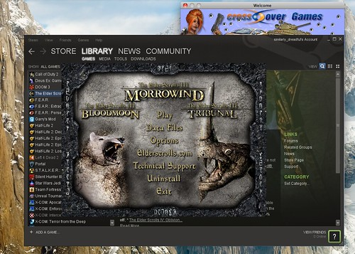 Installed Morrowind via Steam, but it… | Forum for The Elder