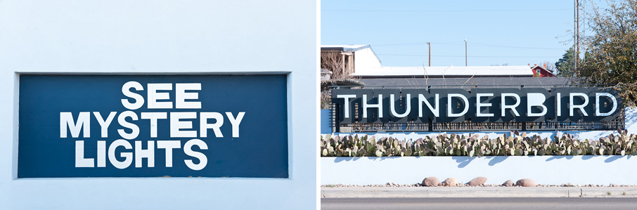 The Fonts of Marfa