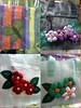Sacola Ecológica (Fuxico de Chita) Tags: de flor artesanal fuxico feltro tecido aplicação sacola ecológica customização sacoladefeira aplicaçãodefeltro sacolaecológica