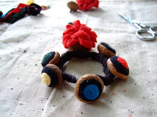 Acorn Shell Bracelet
