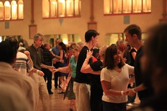 Swing Dancing at the Spanish Ballroom