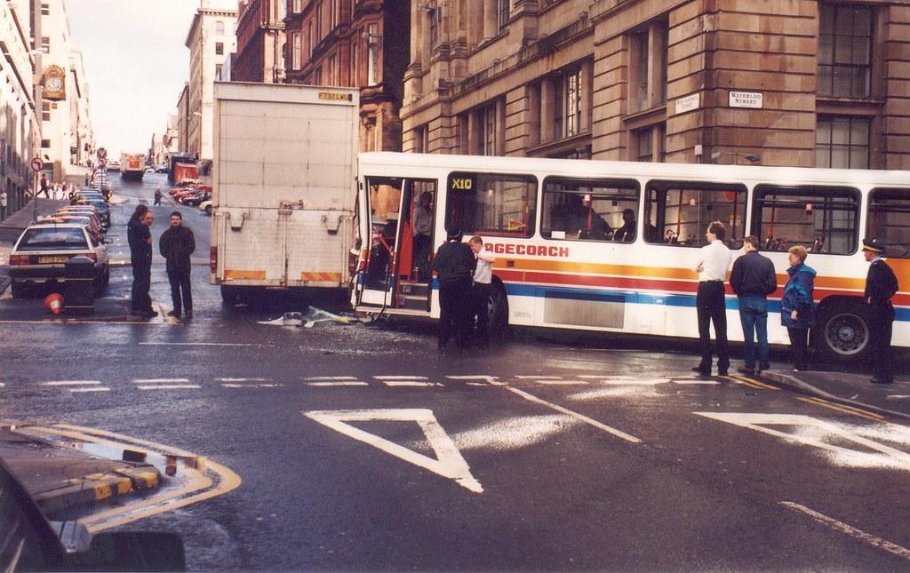 Car Accident Glasgow City Centre