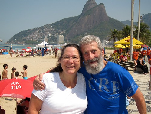 Kelipie at Impanema with Lou