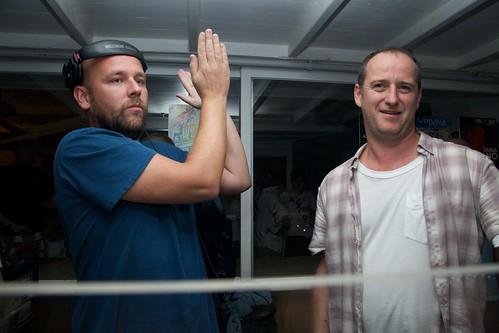 Sander Kleinenberg with Sasha at Ushuaia Ibiza