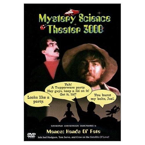Cover of MST 3K  Manos Hands of Fate
